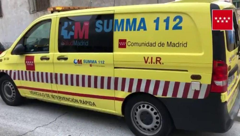 Hallan muertas a dos personas por arma blanca en un domicilio de Madrid