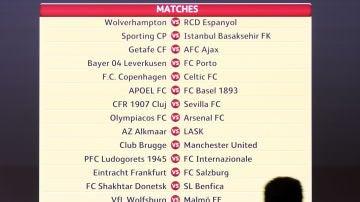 Sorteo Europa League: Así quedan los emparejamientos de la Europa League