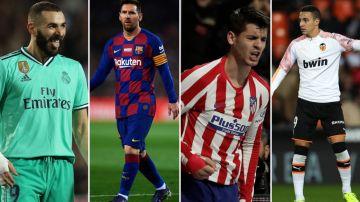 Los emparejamientos de los cuatro equipos españoles en Champions