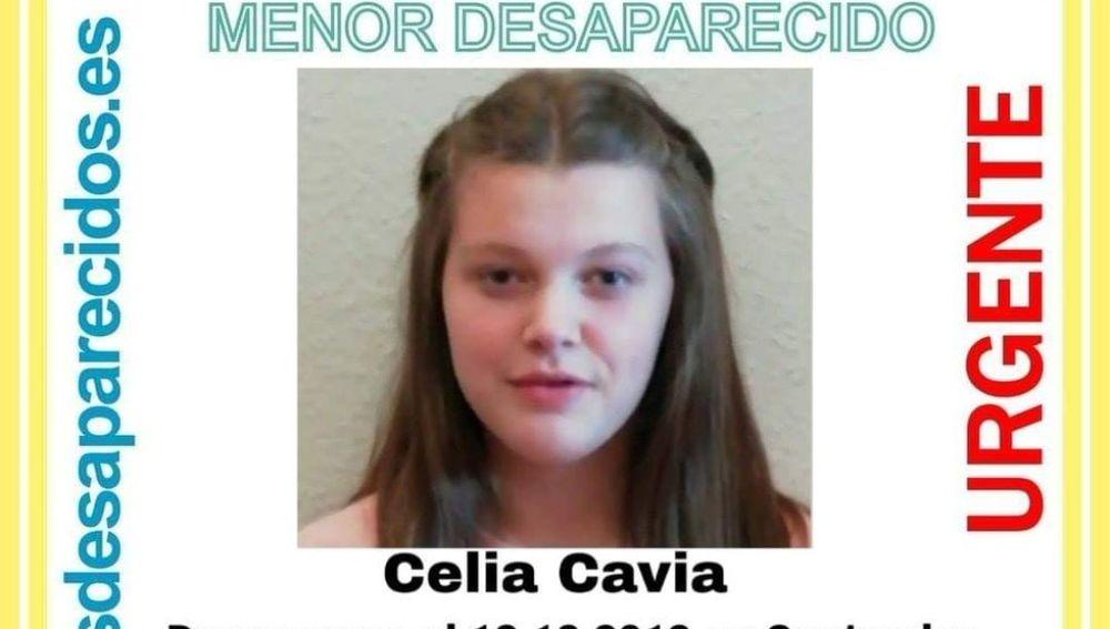 Imagen de la menor desaparecida en Santander