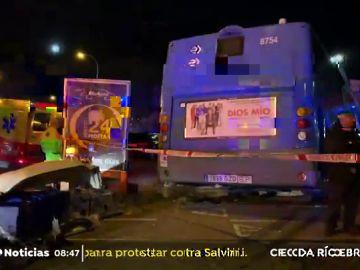 accidente Madrid