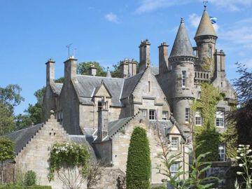Castillo Carlowrie en Edimburgo