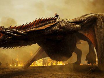 Daenerys y Drogon en 'Juego de Tronos'