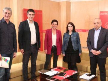 Reunión PSOE-Bildu