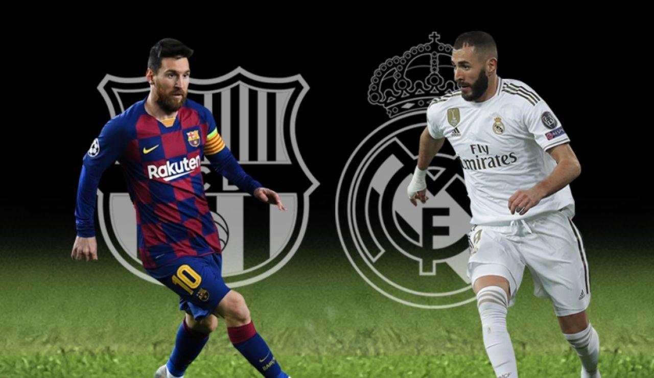 Barcelona - Real Madrid: Horario del partido de Liga Santander y dónde ver el Clásico en directo