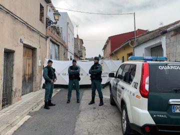 Registro en la casa del sospechoso del crimen de Marta Calvo.