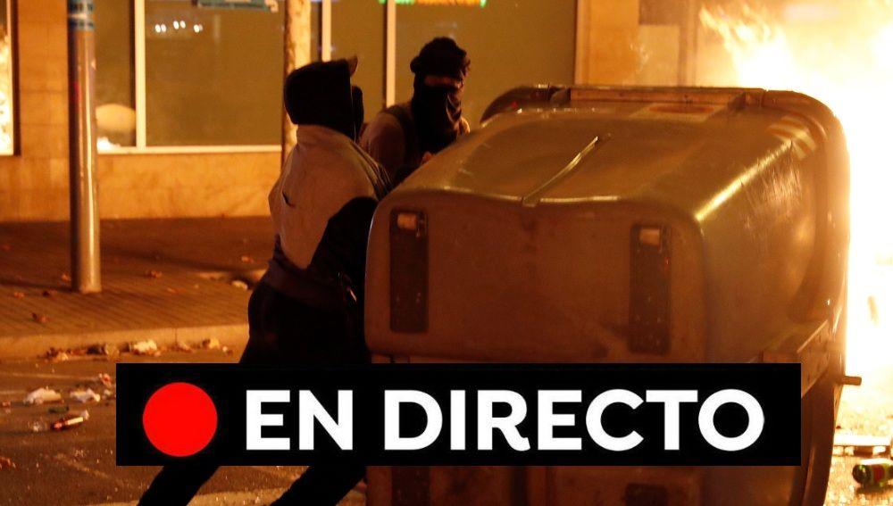 Barcelona - Real Madrid: Disturbios tras el Clásico, cargas policiales y última hora de Tsunami Democràtic y Cataluña, en directo