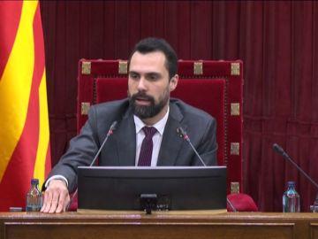 """Rifirrafe entre Torrent y Martín Calvo (C's) por tildar a Torra de """"individuo"""" y """"sujeto"""""""