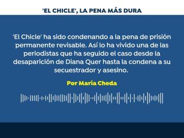 REEMPLAZO El fin de los números: prisión permanente revisable para 'El Chicle'