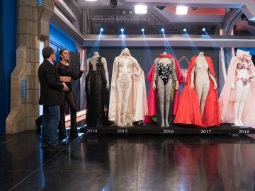 Repasamos junto a Cristina Pedroche los impresionantes vestidos de las Campanadas