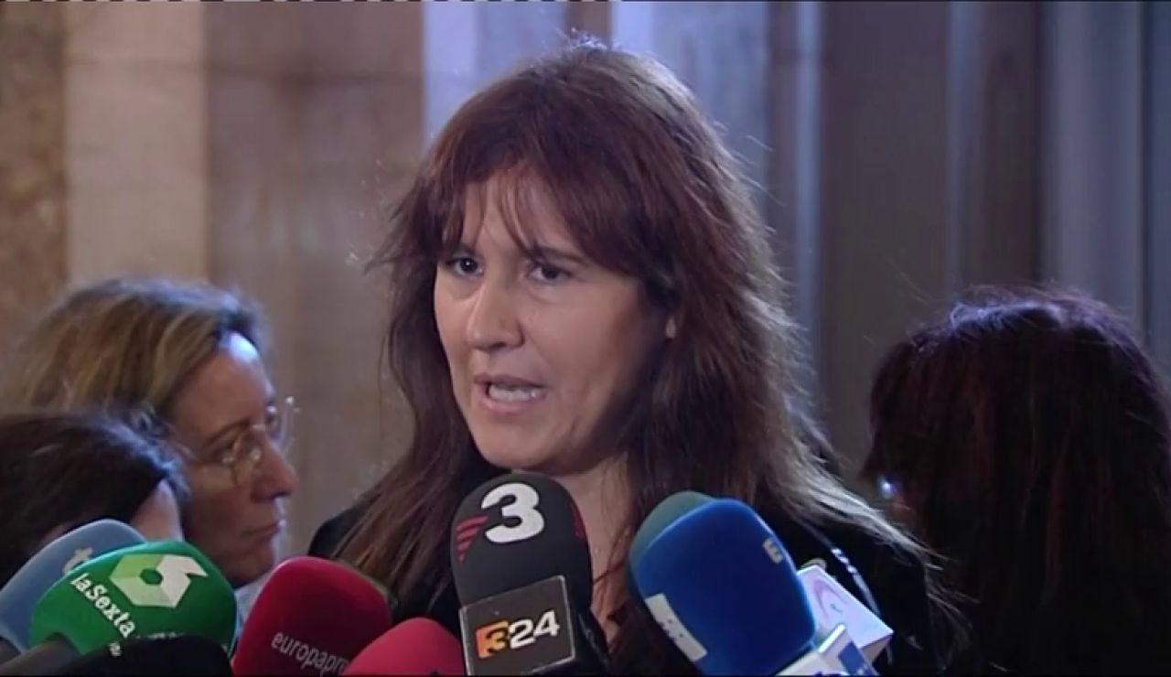 """Laura Borràs niega haber causado """"prejuicio al erario público"""""""