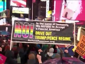 Más de 600 manifestaciones en Estados Unidos exigen el juicio político a Donald Trump