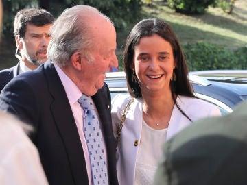 Victoria Federica y su abuelo Don Juan Carlos