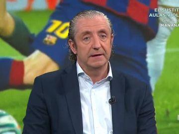 Josep Pedrerol en 'El Chiringuito de Jugones'