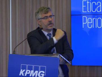 """Miguel Ángel Oliver, secretario de Estado de Comunicación, pide disculpas por llamar """"tertulianos"""" y """"activistas políticos"""" a los periodistas"""