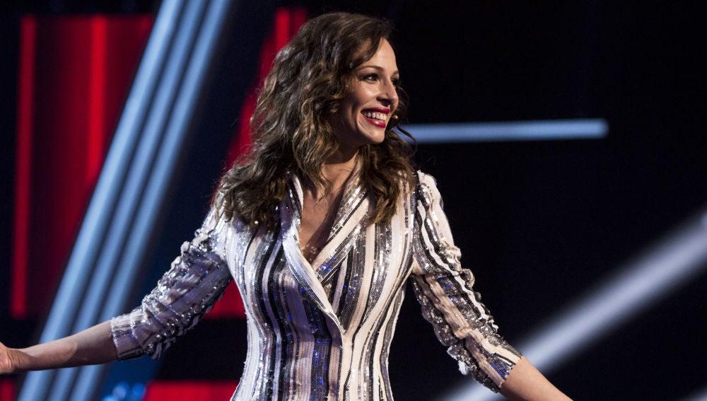 Eva González en la Gran Final de 'La Voz Kids' en Antena 3