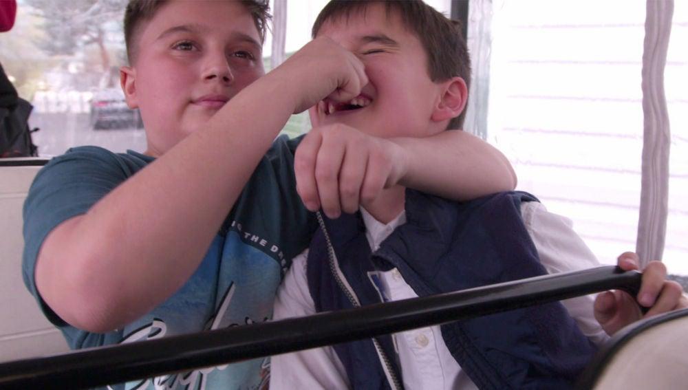 La tierna amistad entre Chavito y Daniel García en 'La Voz Kids'