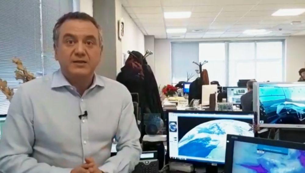 Roberto Brasero. Previsión del tiempo