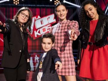 Sofía, Daniel, Irene y Aysha, últimos finalistas de 'La Voz Kids'