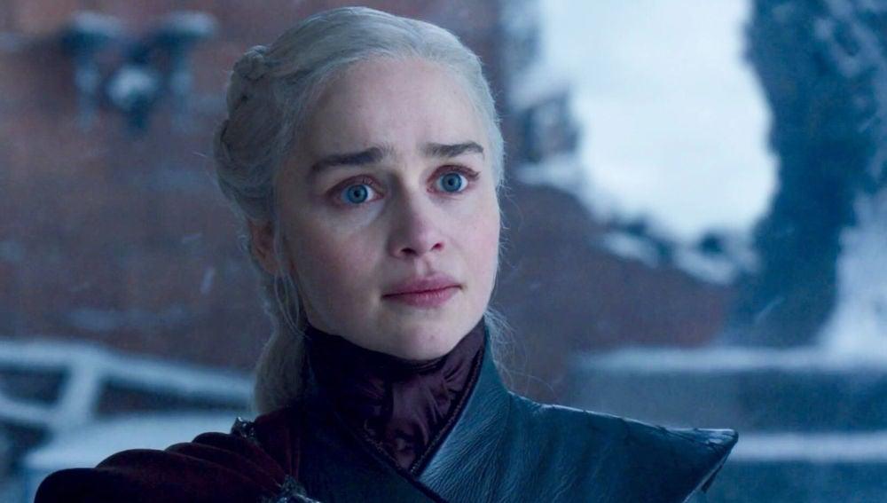 Emilia Clarke como Daenerys en 'Juego de Tronos'