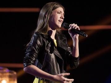Patricia García canta 'Y ahora' en la Final de 'La Voz Kids'