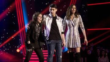 Sofía Esteban, última finalista del equipo de Melendi en 'La Voz Kids'