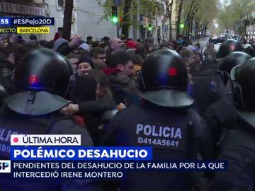 Polémico desahucio en el barrio de Gràcia.