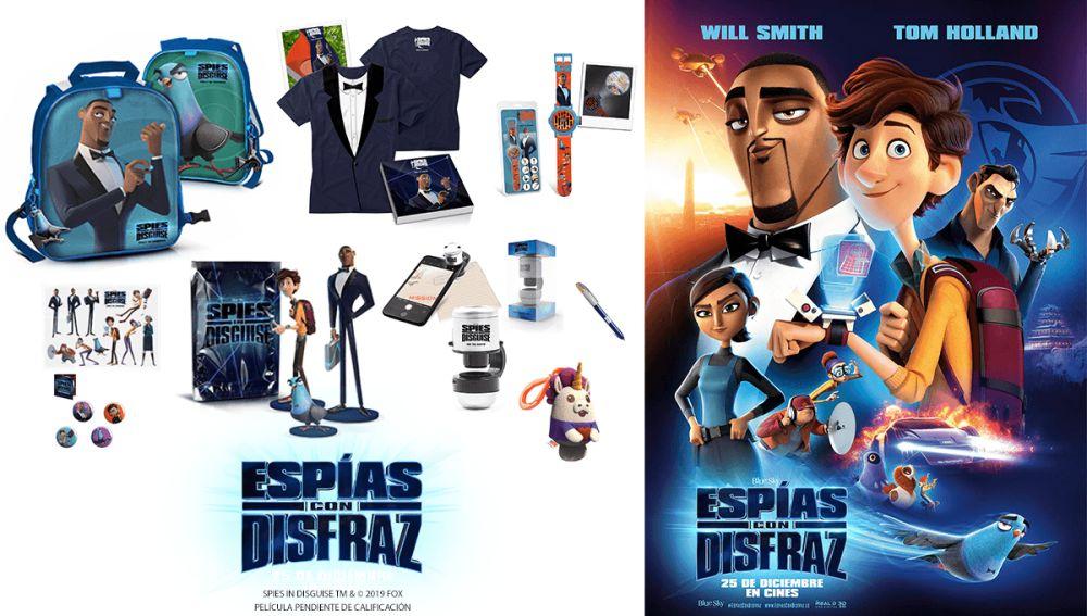 Concurso 'Espías con disfraz'