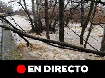 Carreteras cortadas hoy por el temporal Elsa, última hora en directo   El tiempo hoy