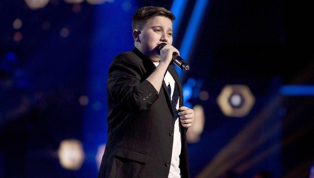 Chavito canta 'Vida loca' en la Final de 'La Voz Kids'