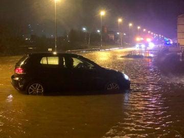 Inundaciones en Reinosa