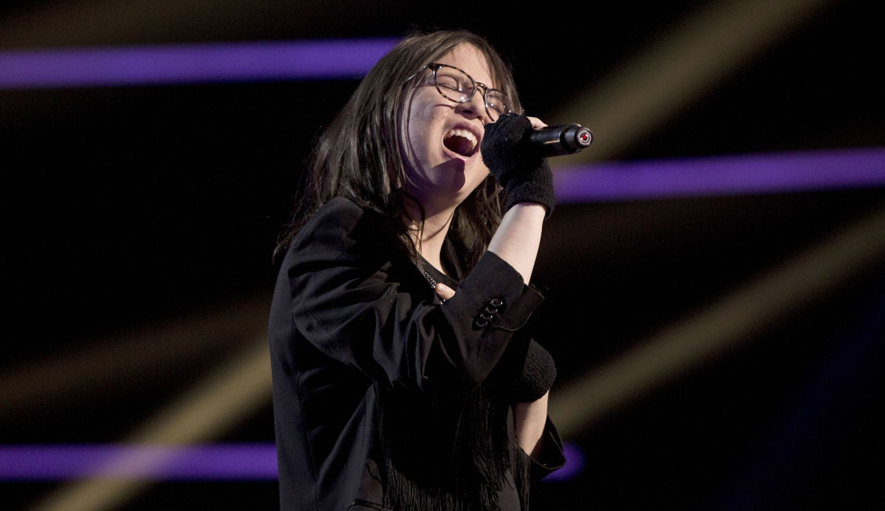 Sofía Esteban canta 'Killing me softly' en la Final de 'La Voz Kids'