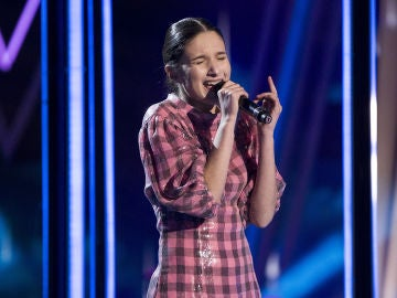 Irene Gil canta 'Love on the brain' en la Final de 'La Voz Kids'