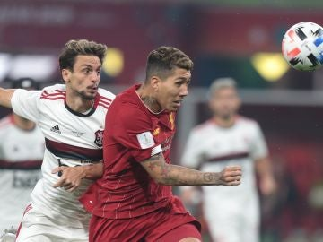 Firmino marcó el gol de la victoria para el Liverpool