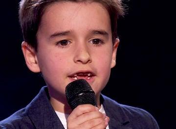 Daniel García, talent de 'La Voz Kids'