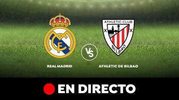 Real Madrid - Athletic de Bilbao: Liga Santander, en directo