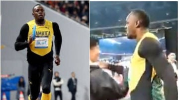 Usain Bolt, en Tokio