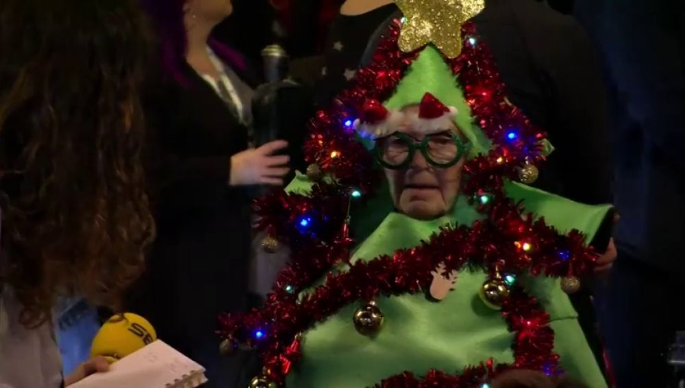 Los disfraces más originales del sorteo de la Lotería de Navidad 2019 en el Teatro Real