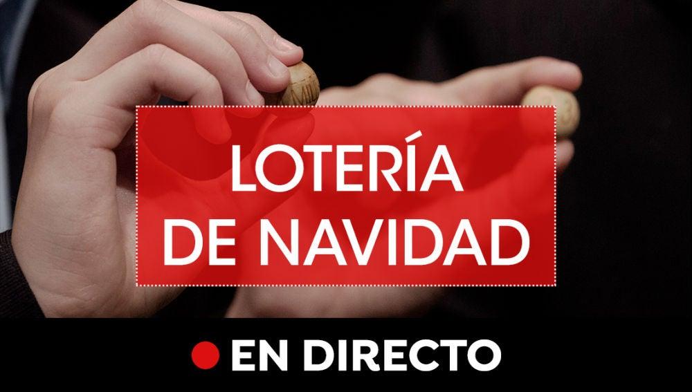 Lotería de Navidad en directo: Comprobar número y premios del sorteo extraordinario de Navidad online