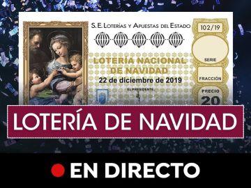 Lotería Navidad 2019: Comprobar número y consultar el resultado del sorteo de hoy, en directo