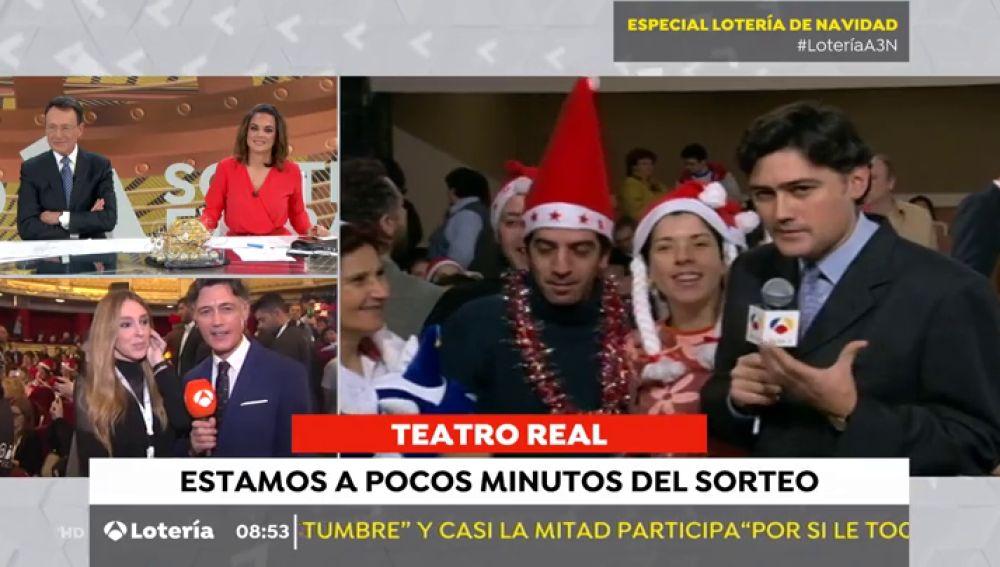 Cómo hemos cambiado: el redactor que lleva 24 años retransmitiendo la Lotería de Navidad en Antena 3 Noticias