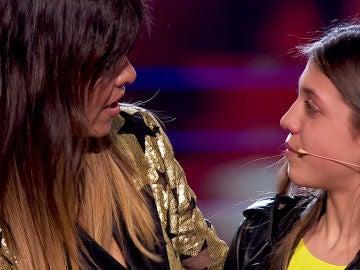 La lección de Vanesa Martín a Patricia García sobre la victoria en su despedida en 'La Voz Kids'