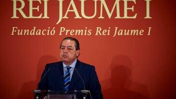 Vicente Boluda, en un acto en acto en Valencia en 2017