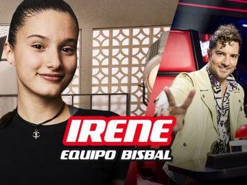 Irene Gil, finalista del equipo de David Bisbal en 'La Voz Kids'