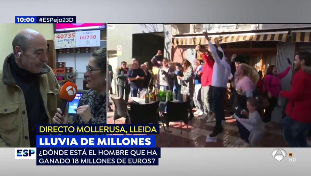 Lluvia de millones en Mollerusa.