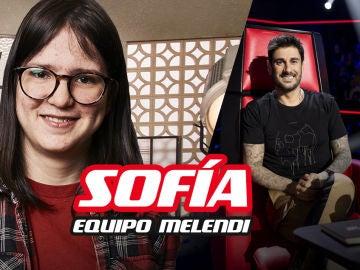 Sofía Esteban, finalista del equipo de Melendi en 'La Voz Kids'