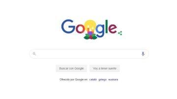 Doodle navideño de Google