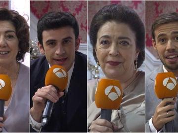 La felicitación de Navidad más especial de los actores de 'El secreto de Puente Viejo'