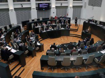 El Ayuntamiento de Madrid celebra el pleno para aprobar sus presupuestos para 2020