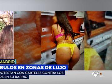 Prostitución en el barrio de Salamanca